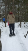 Snowshoeing in Algonquin Park