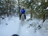 Snow-riding at the edges of Algonquin Park