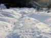 Cheltenham Badlands in snow