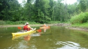 The Beaver River - getting underway