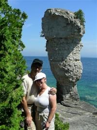 On Flowerpot Island