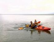 Kayak capers!