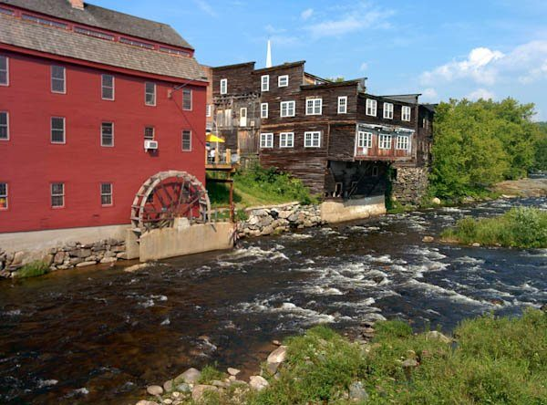 View from the bridge, Littleton, NH