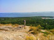 Camden Hills State Park - view from Mount Battie