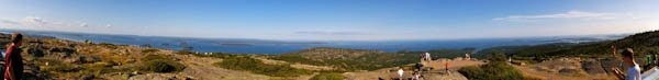 From Cadillac Mountain, Acadia National Park, ME
