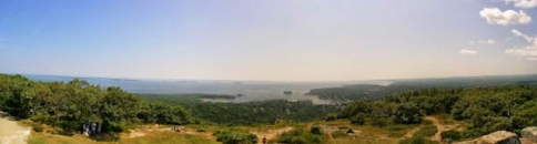Camden Hills State Park - view from Mount Battie