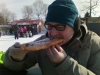 Paul enjoying a Beavertail!
