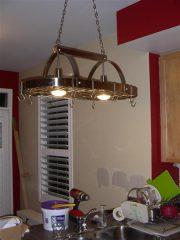 New pan rack with lights!