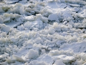 Quebec City - ice!