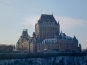 Quebec City - The Fairmont Le Château Frontenac