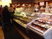 Quebec City  - Le Croquembouche - Boulangerie Pâtisserie