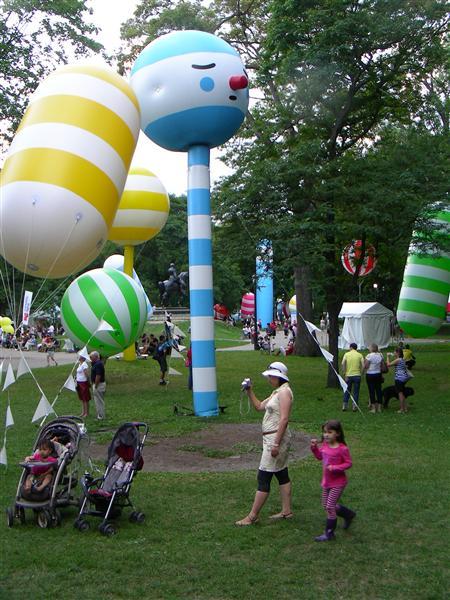 Luminato inflatables