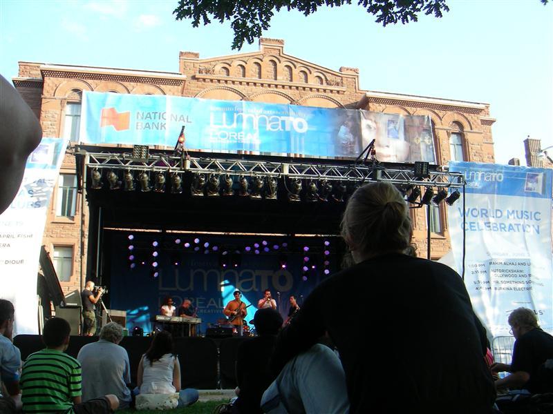Luminato - Stage