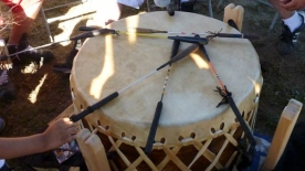 Wikwemikong Cultural Pow-Wow - Drum