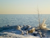 Ice transformations on the shore