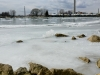 Ice in Ashbridges Bay Marina