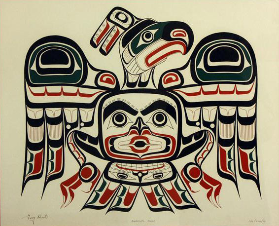 Kwakiutl Kolus - Tony Hunt