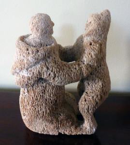 Innuit Whalebone Carving
