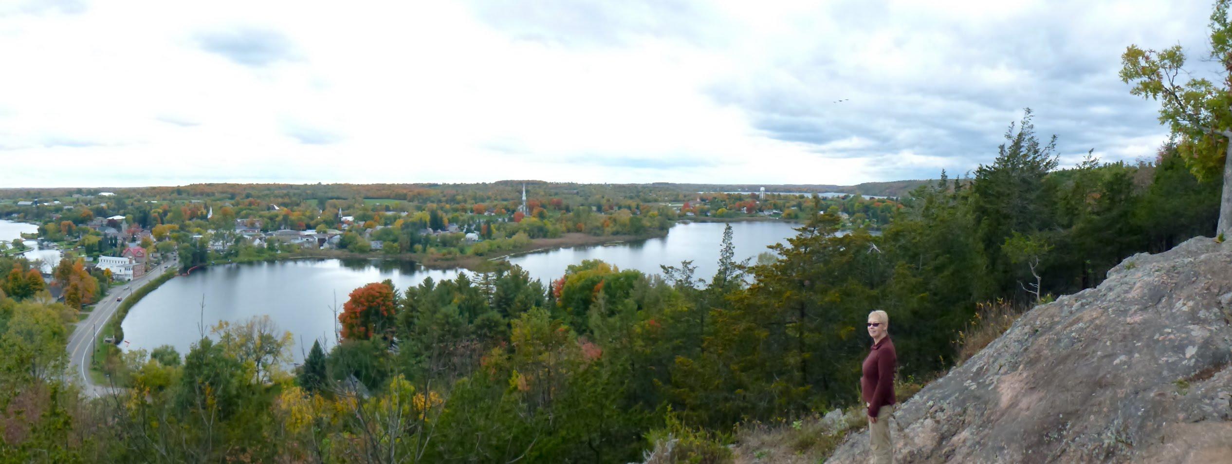 From the Lookout at Foley Mountain
