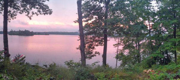 Sunrise on Cranberry Lake