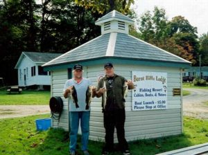 Fishing at Burnt Hills Lodge