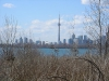 CN Tower from Leslie St Spit