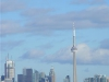 CN Tower from the West in Winter