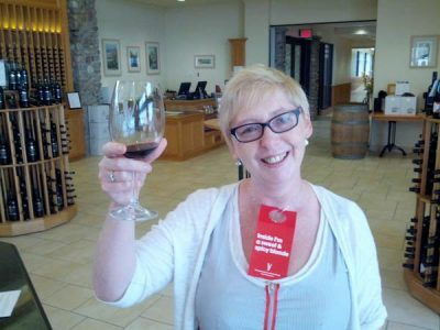 Erie Shore Wineries - 'Inside I'm a sweet and spicy blond!'