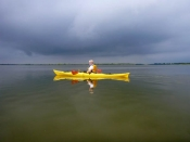 Kayaking in the marshes at Point Pelee
