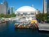 Rogers Centre and Kayaks