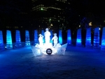 Ice Carvings - Confederation Park - War Memorial