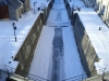 Ottawa - frozen locks on the Rideau