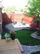 Back garden, before planting