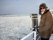 Quebec City - Paul on the ferry