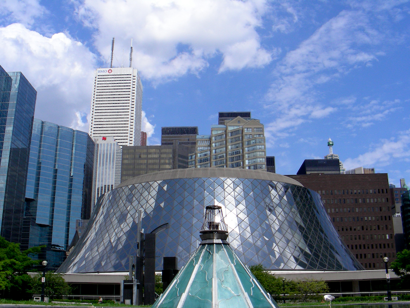 Downtown Toronto - Roy Thomson Hall