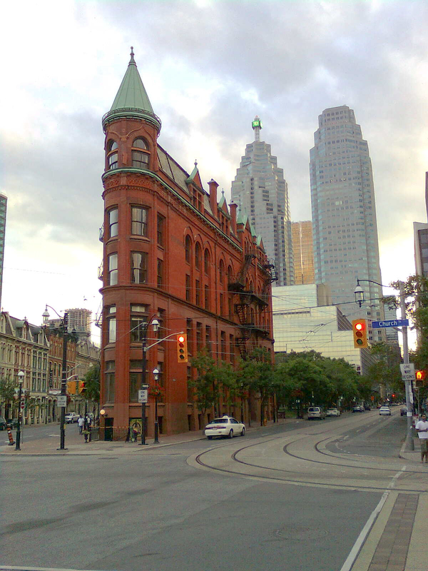 Downtown Toronto - Flatiron Building