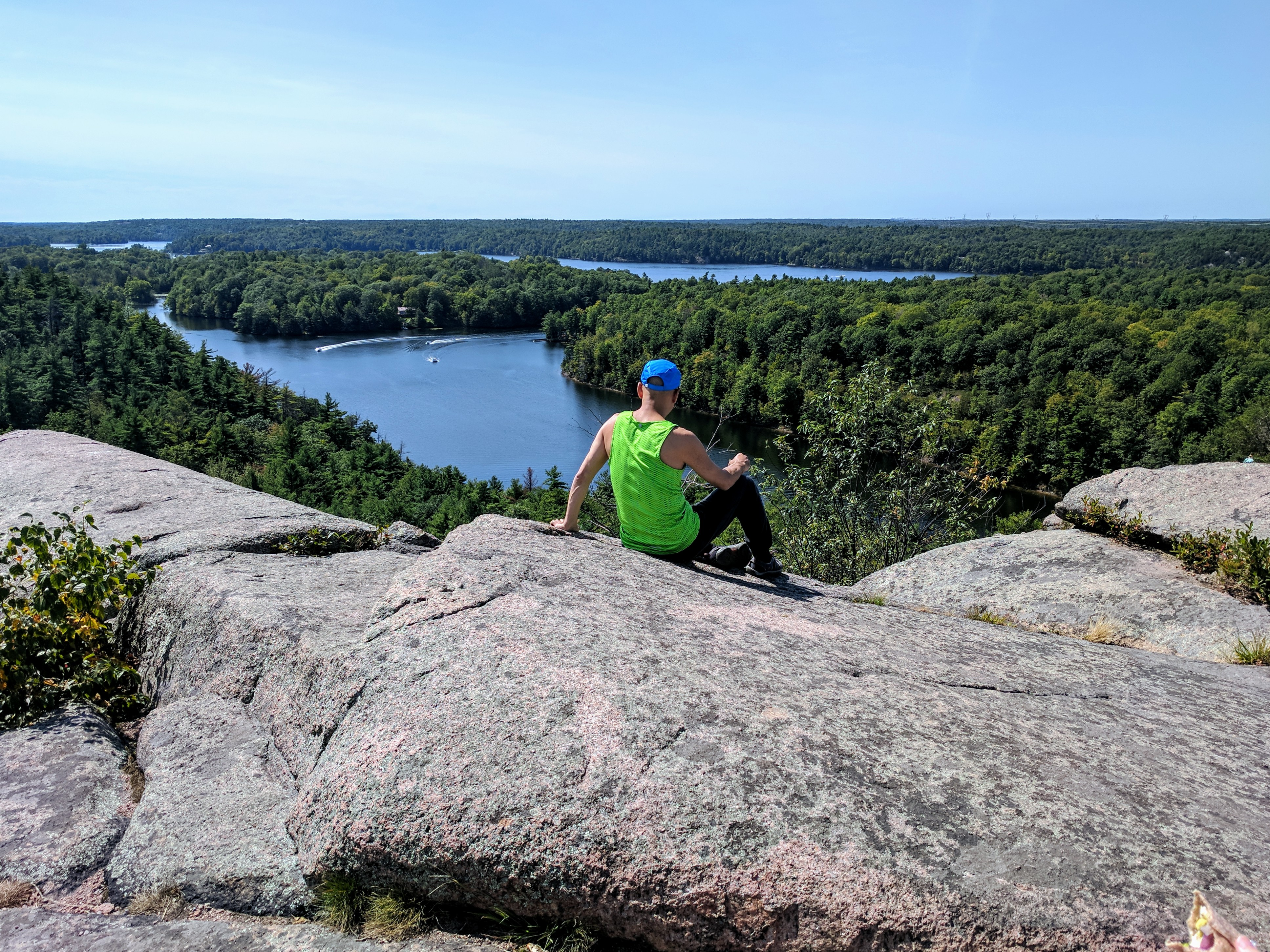 From the top of Rock Dunder