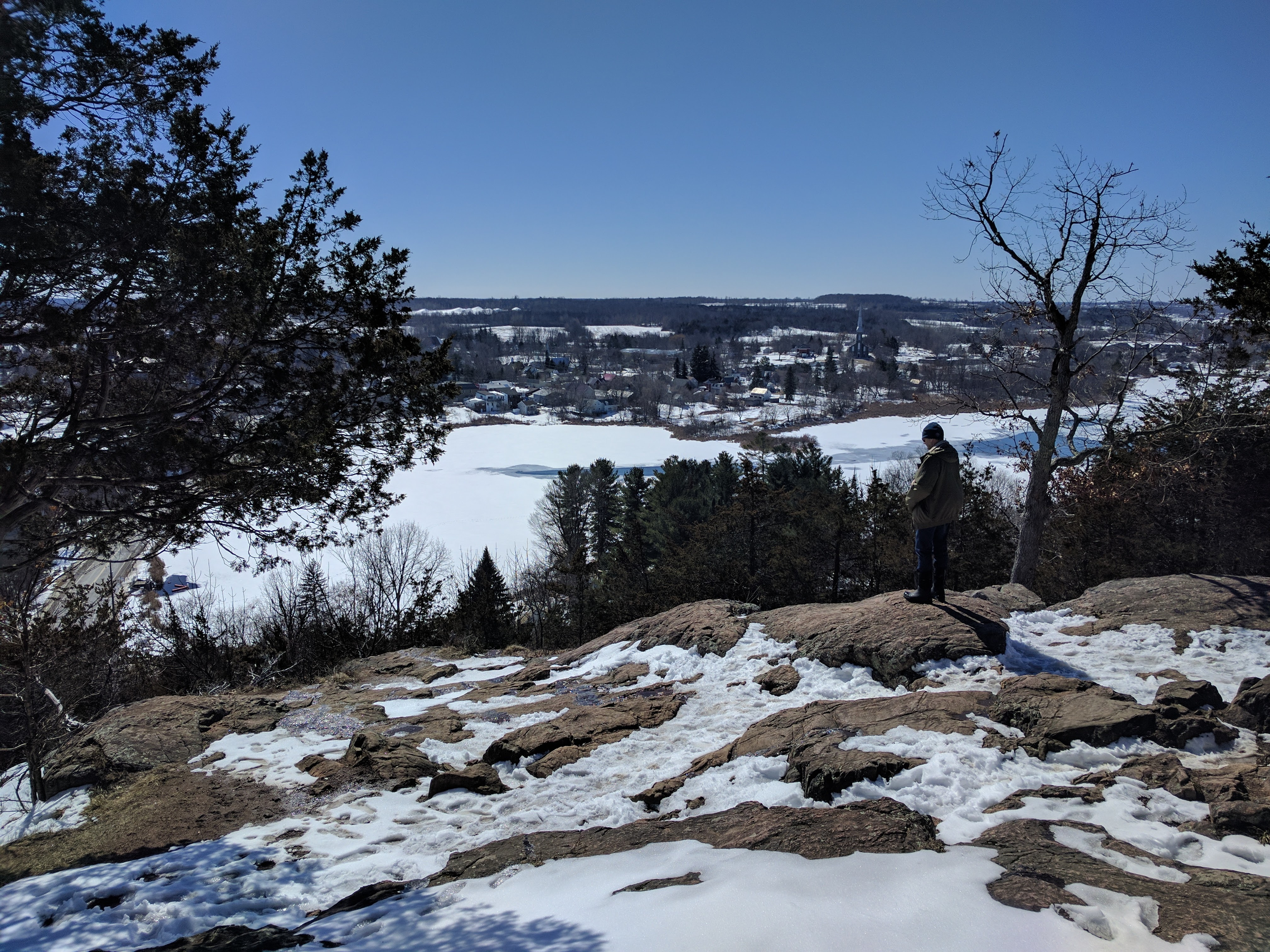Winter's End at Foley Mountain Lookout