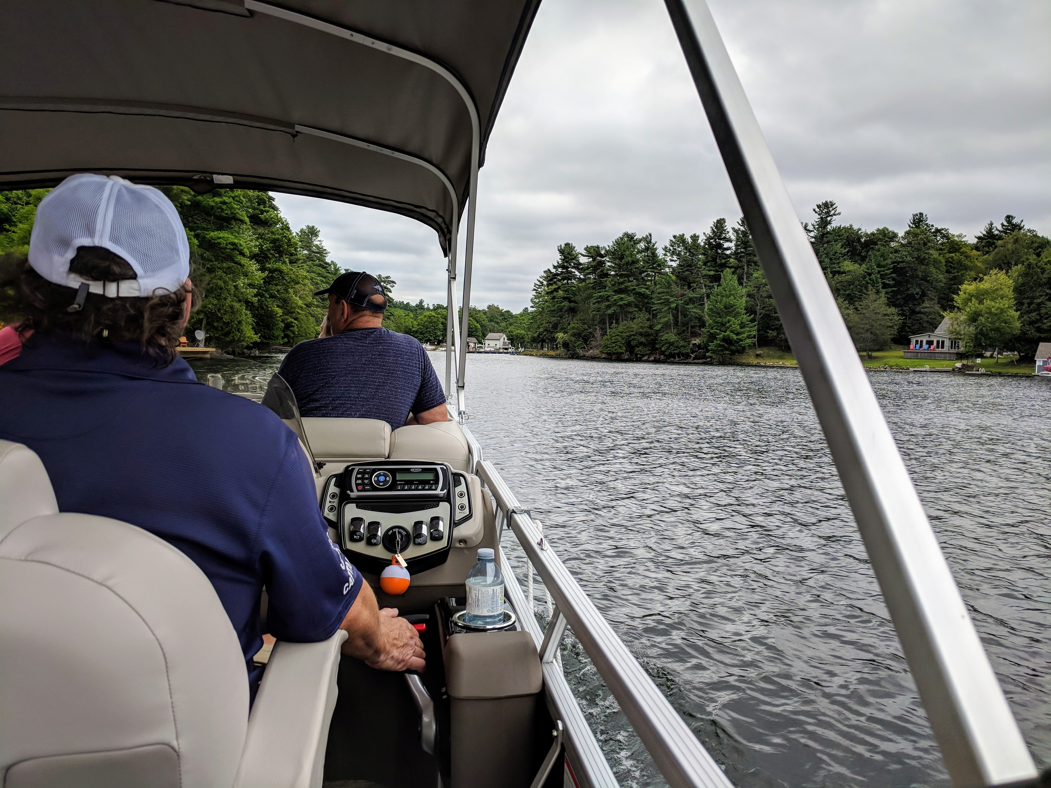 Out on the Rideau with Rideau Tours