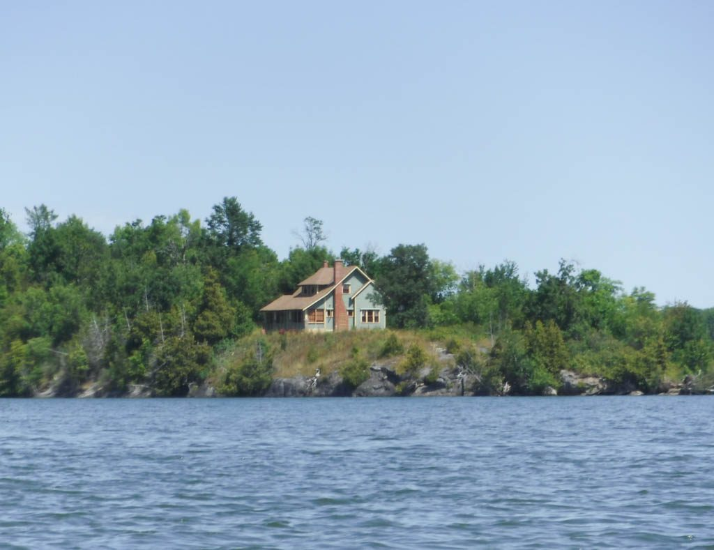 The house on Beaupre Island