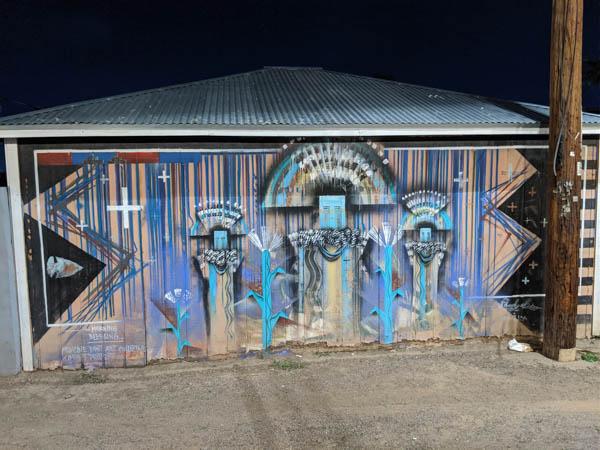 Street art behind the Barrio Cafe, Phoenix