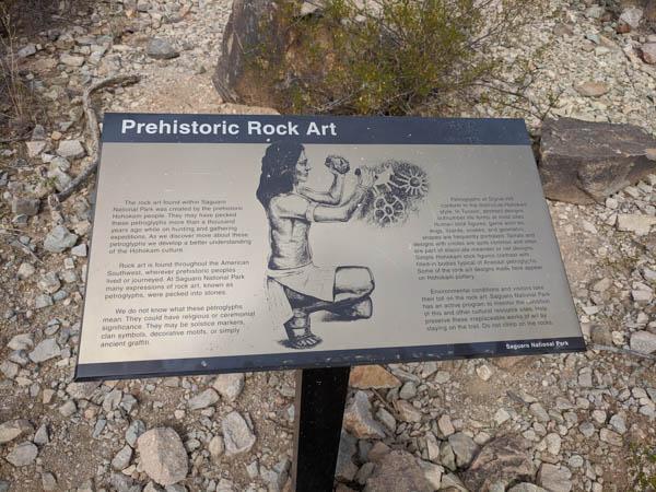 Prehistoric Rock Art, Saguaro National Park