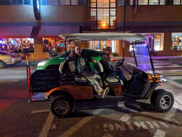 Bisbee - free ride service
