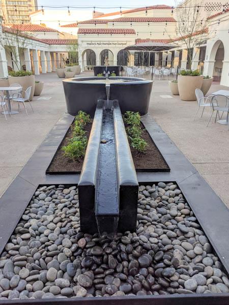 Courtyard at the Heard