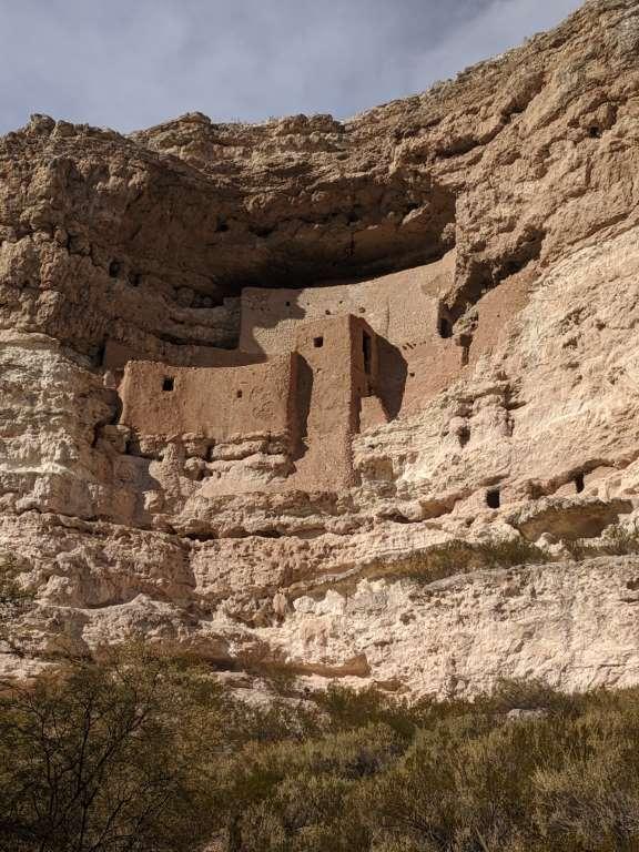 Montezuma Castle's Sinagua cliff dwellings