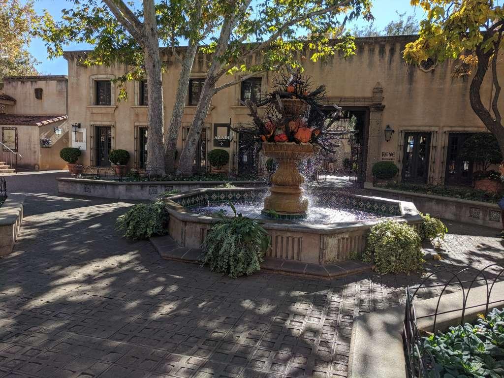 Courtyard at the Tlaquepaque Art & Shopping Village, Sedona