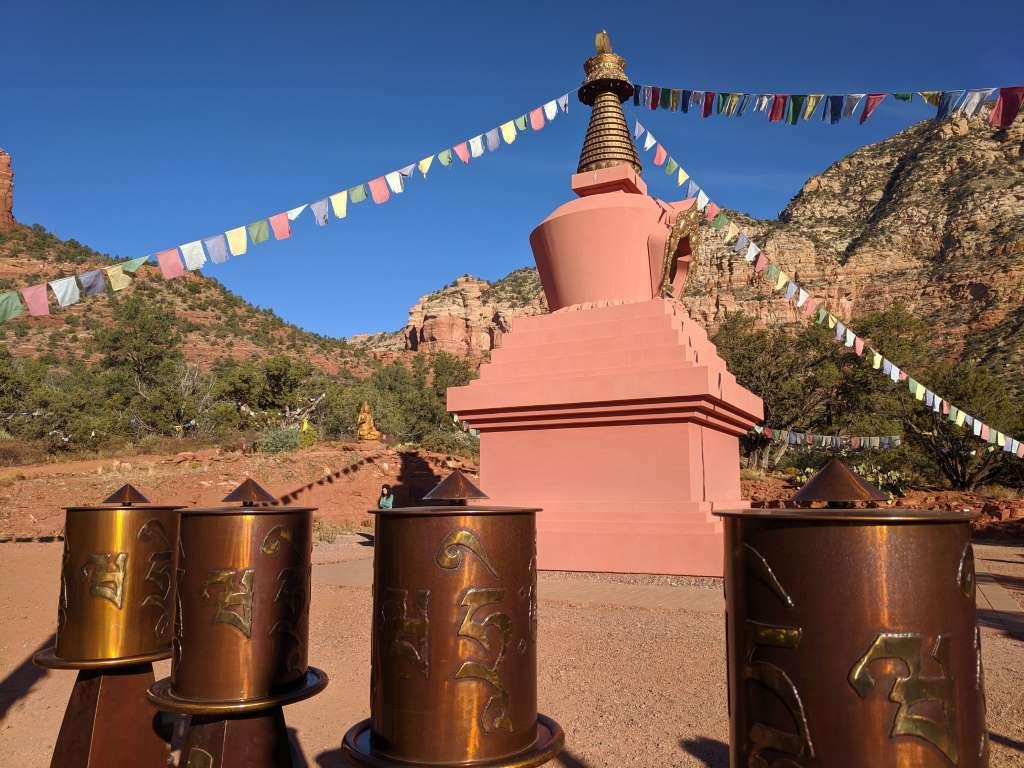 The Amitabha Stupa and Peace Park, Sedona, Arizona