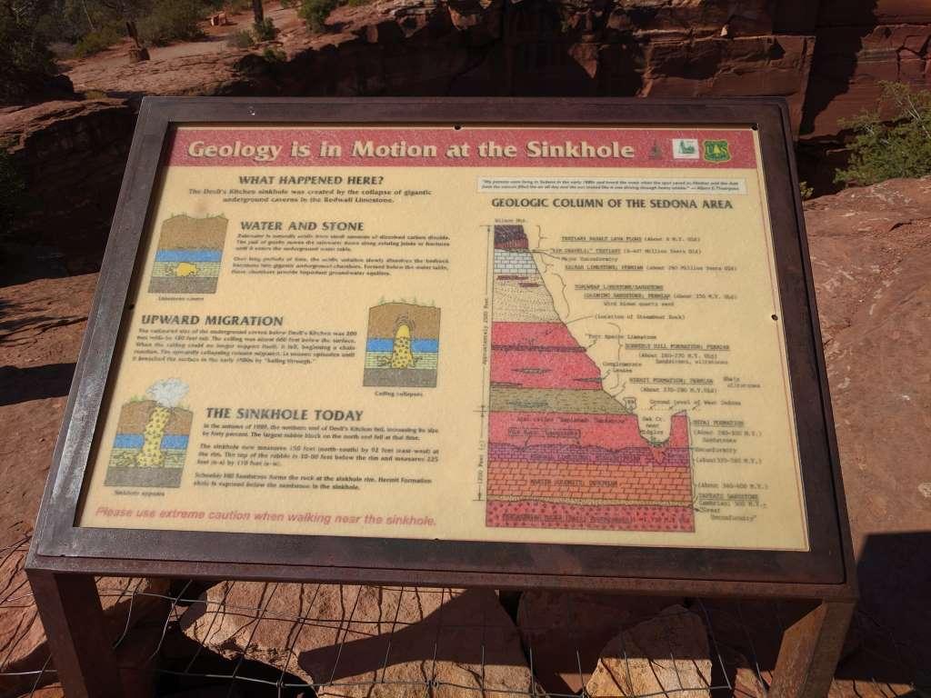 The Devil's Sinkhole, Sedona, Arizona