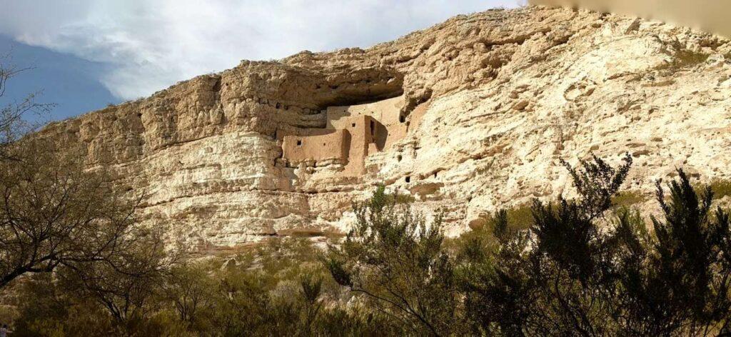 Montezuma Castle's Sinagua cliff dwellings, Arizona